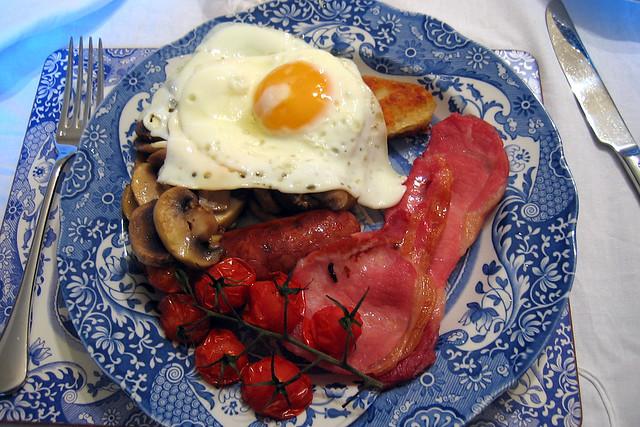 Claridges Breakfast