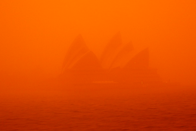 Dust Storm - Opera House