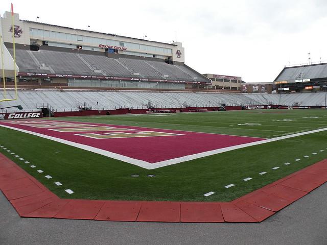 alumni stadium college stadiums