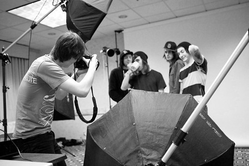 Adam Elmakias Shooting Pierce The Veil
