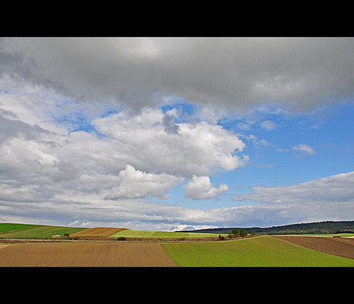 autumn sky colors clouds austria europe fields 100commentgroup