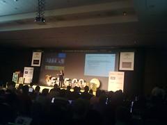 Paloma Llaneza hablando de datos personales en EBE