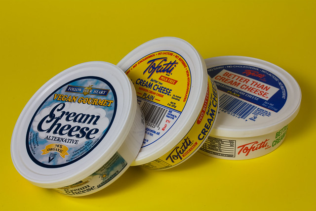 Assorted Vegan Cream Cheeses