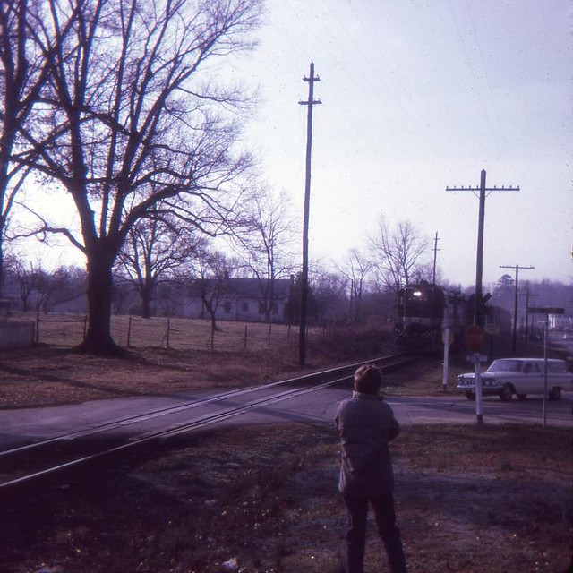 Train at Winnsboro (1967)