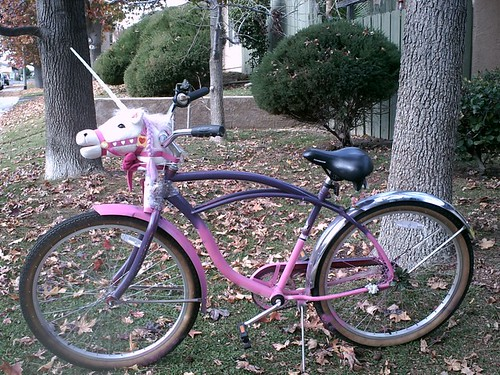 Photo:Unicorn Bicycle By:queercatkitten