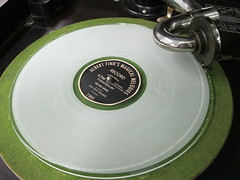 green, compact disc, circle, gramophone record,