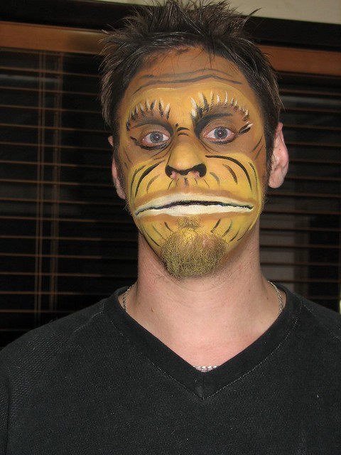 Gallery For gt Monkey Face Paint