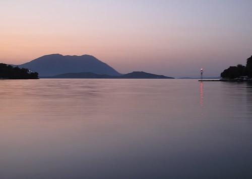 lighthouse seascape calm