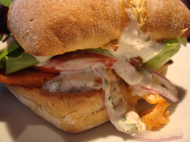 Grilled Salmon Sandwich | Flickr - Photo Sharing!
