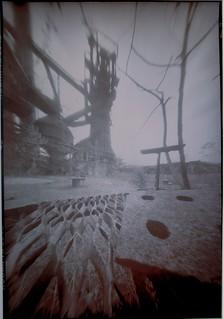 Pinhole Dreams Series: Carrie Furnace by John Fobes