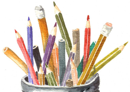 Colores (Color Pencils)