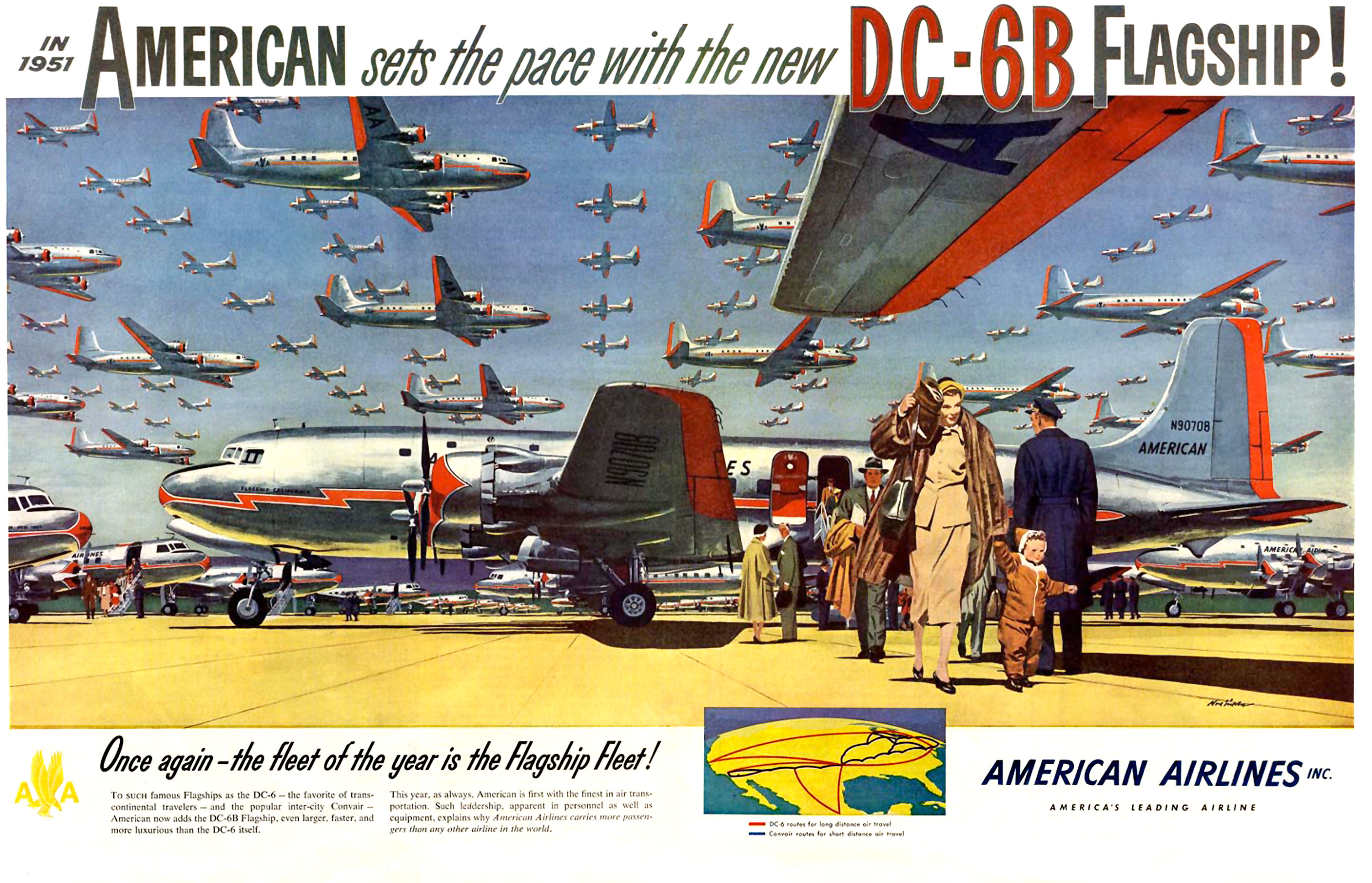American Airlines - 1951