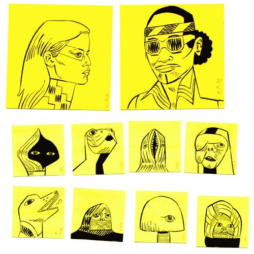 post-it gang scan 1 by derek m ballard
