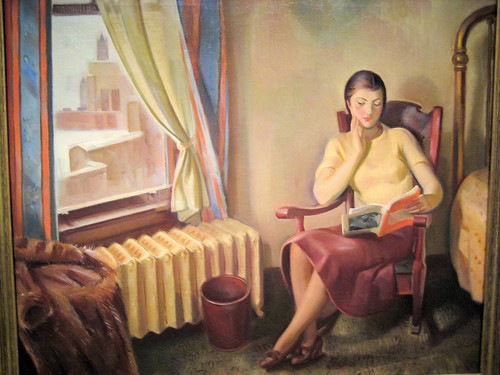 Chicago Interior - 1934 New Deal Painting at Smithsonian American Art Museum