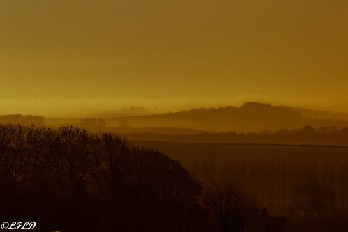 northanston england unitedkingdom gb sunrise landscape dinnington