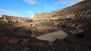 Image of Colosseum near Roma Capitale. trip20170208 rzym roma muzeumwatykańskie colosseum geo:lon=12492542 geo:lat=41889725