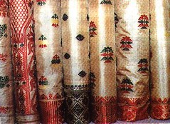 Indigenous Weaving Product from Pat-Muga -the Assam silk
