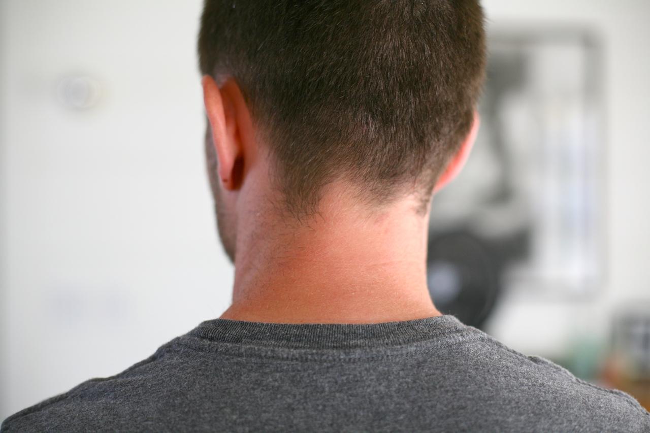 my neck