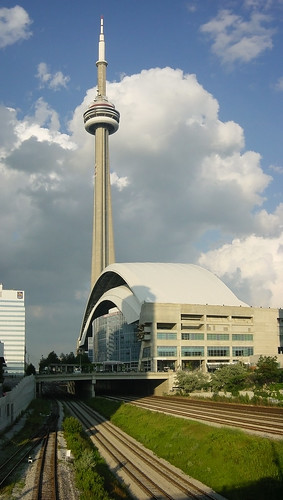 CN Tower, SkyDome & Railway, Toronto