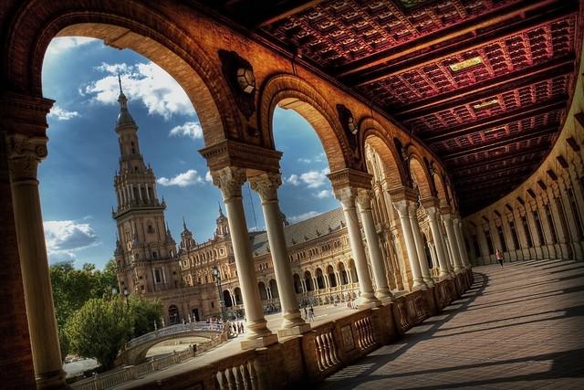 Plaza de España. Sevilla.    http://zusanchez.webs.com