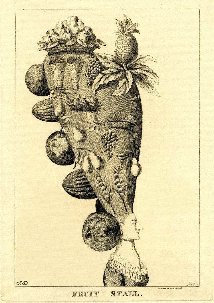 Fruit stall 1777