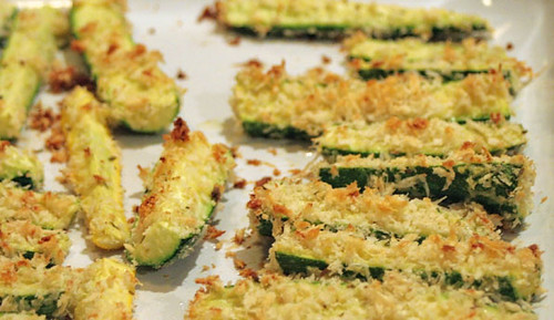 baked zucchini sticks | Flickr - Photo Sharing!