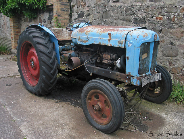 Abandoned Tractor Northumberland Flickr Photo Sharing
