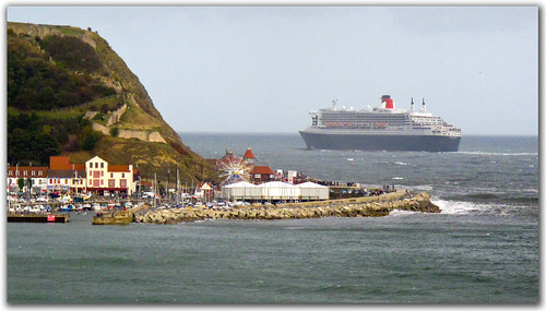 Queen Mary 2, Scarborough.