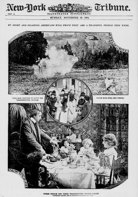 By sport and feasting Americans will prove they are a thankful people this week (LOC)