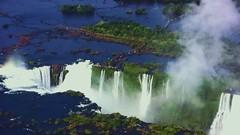 Brasilien- Iguassu-Wasserfälle