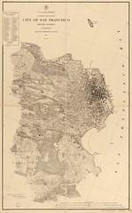 City of San Francisco And Its Vicinity, U.S. Coast Survey, 1857/1891