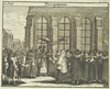 Wedding ceremony, 1724, from Juedisches Ceremoniel by Center for Jewish History, NYC