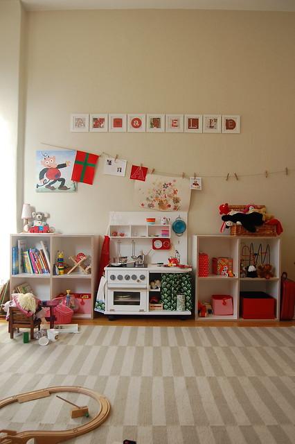 kinderzimmer mit k che flickr photo sharing. Black Bedroom Furniture Sets. Home Design Ideas