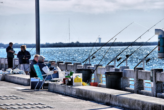 Just fishin 39 sunshine skyway bridge south fishing pier for Sunshine skyway fishing pier