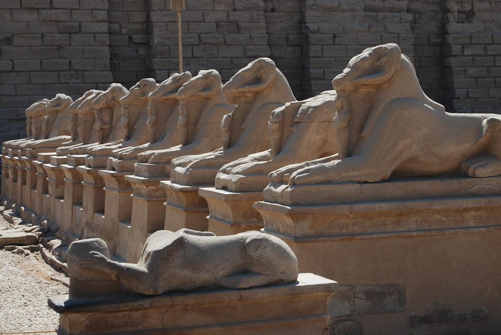 Templo de Karnak, Egipto. Foto: Alan Trotter