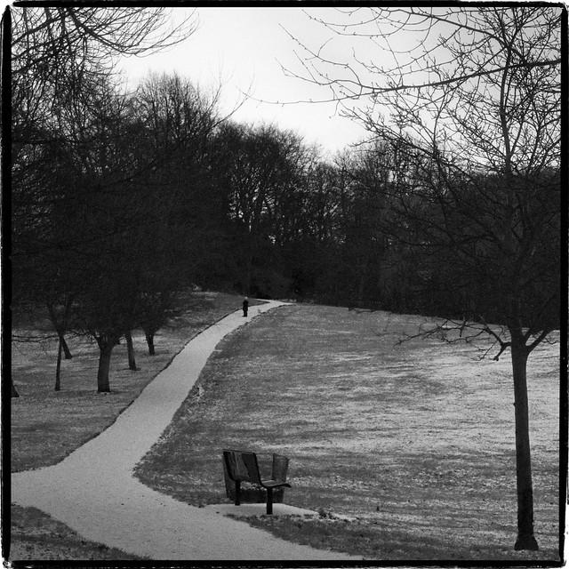 Heaton Park, December Snow