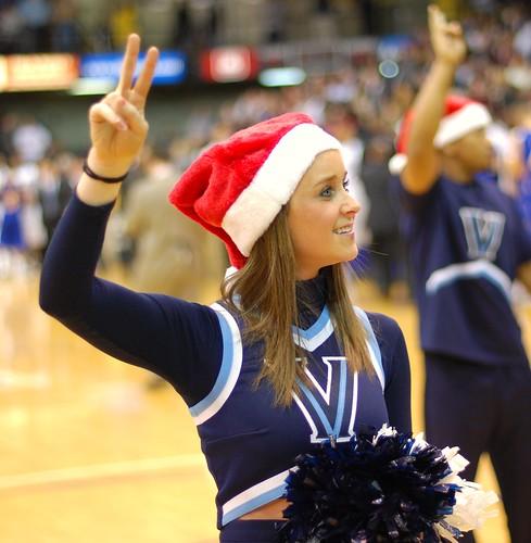 University of Villanova Cheerleaders