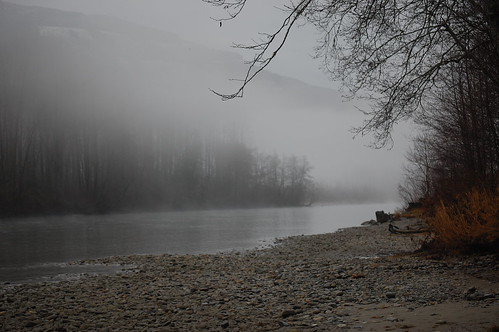 county beach fog river washington nikon rocks december skagit 2009 snohomish d40