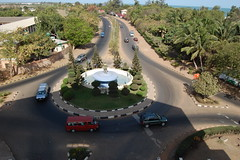 Banjul city from Arch 22