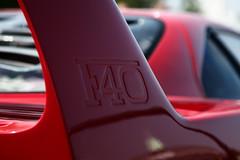 Ferrari F40, detail