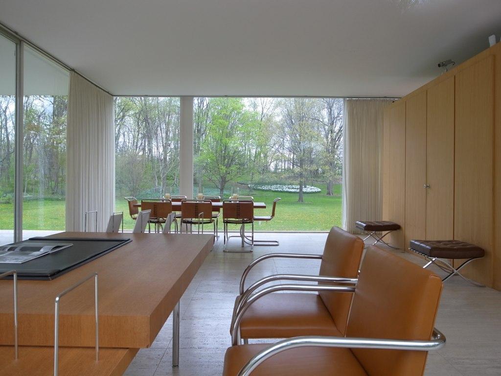 Plano Farnsworth House A Photo On Flickriver