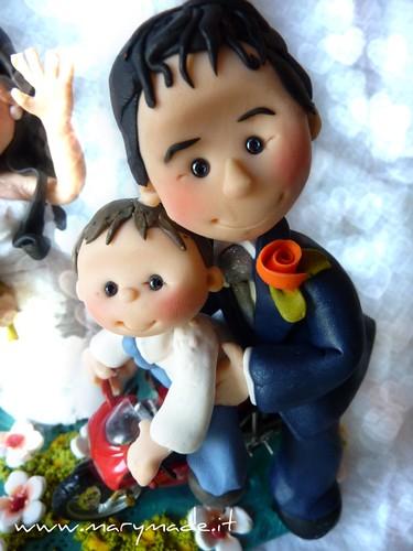 giovannadilascifatherandson470-cake-toppers-matrimonio-con-moto-e-figlio