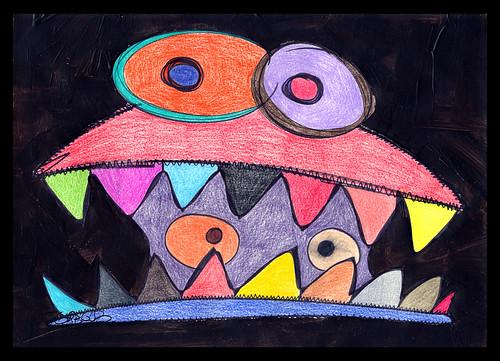 Visão interna by O que dizem os monstros