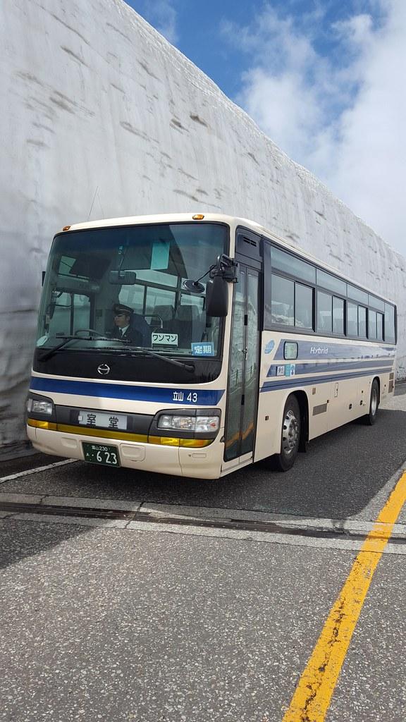 Takeyama - Kurobe alpine route (1)
