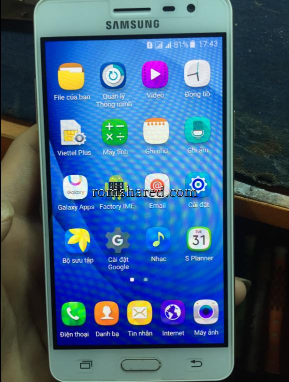 Chia sẻ - Free ROM J3 Pro (J3119) Fix Full TAM GIÁC VÀNG CHO