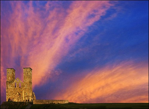 Late evening at Reculver