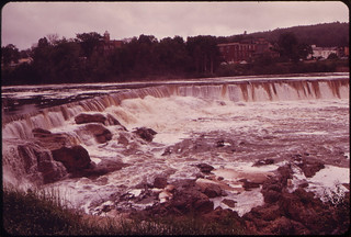Lower Falls at the Town of Livermore Falls ... 06/1973