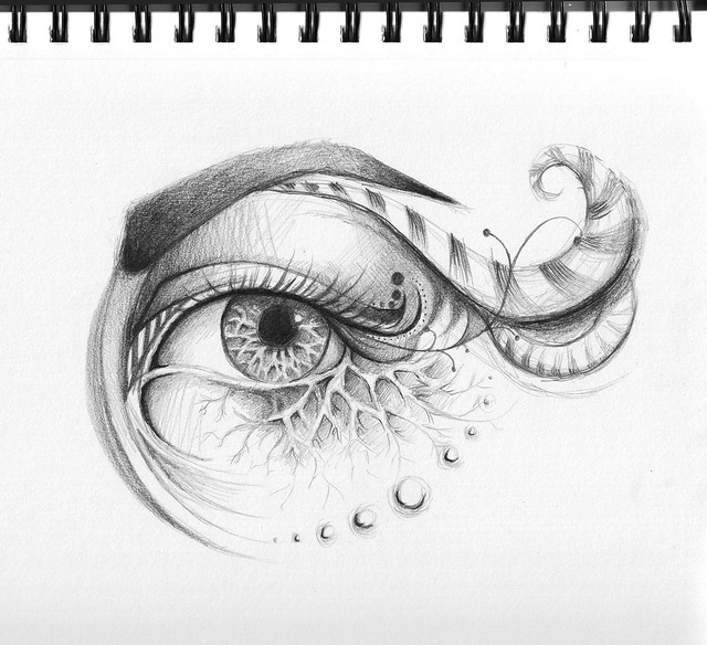 Gallery For gt Unique Eye Drawings