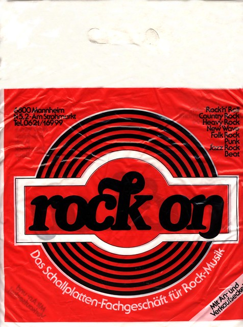 Rock On - Mannheim - Album Bag - 1978 - 82
