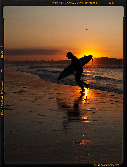 SUNSET SURFER